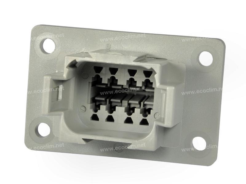 Composant électrique Connecteur DEUTSCH Receptacle RECEPTACLE 8 VOIES DT04-8PL012