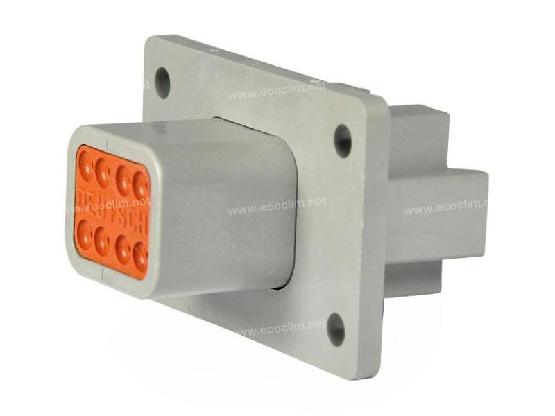 Composant électrique Connecteur DEUTSCH Receptacle RECEPTACLE 8 VOIES DT04-8PL012 |  |