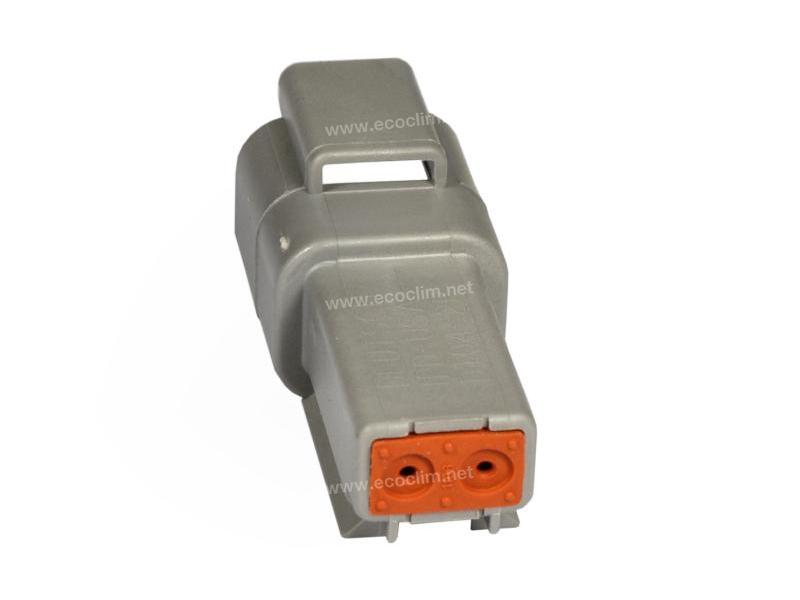 Composant électrique Connecteur DEUTSCH Receptacle RECEPTACLE 2 VOIES DT04-2P