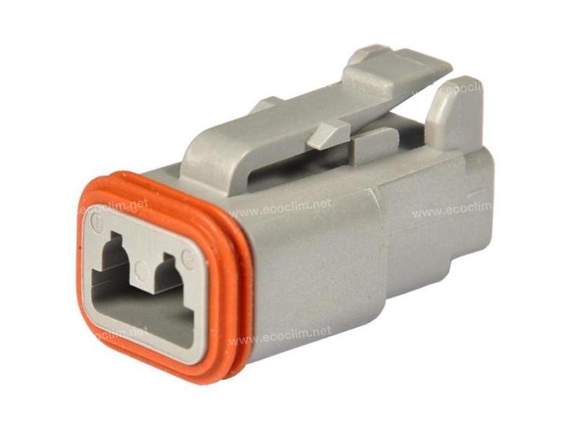 Composant électrique Connecteur DEUTSCH Connecteur CONNECTEUR DEUTSCH DT06-2S |  |