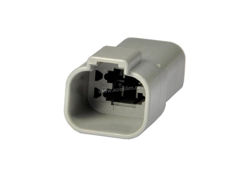 Composant électrique Connecteur DEUTSCH Receptacle 4 VOIES FEMELLE DT04-4P