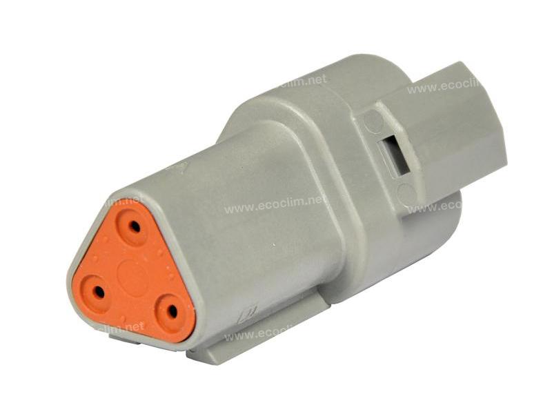 Composant électrique Connecteur DEUTSCH Receptacle 3 VOIES DT04-3P |  |