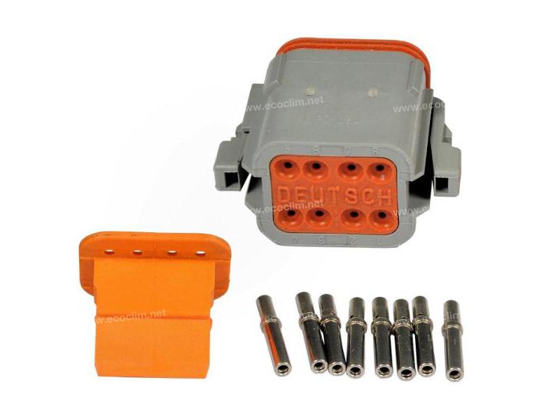 Composant électrique Connecteur DEUTSCH Kit 8 VOIES DT06-8S |  |