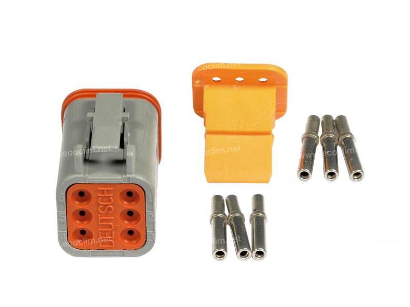 Composant électrique Connecteur DEUTSCH Kit 6 VOIES DT06-6S |  |