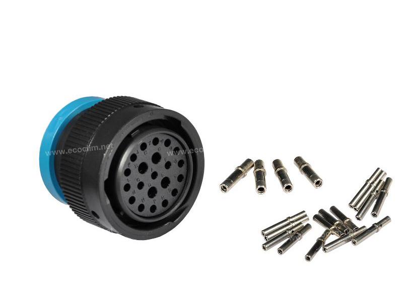 Composant électrique Connecteur DEUTSCH Kit 24 VOIES HDP26-24-21SE