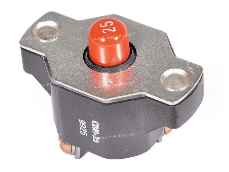 Composant électrique Coupe circuit MANUEL 25A |  |