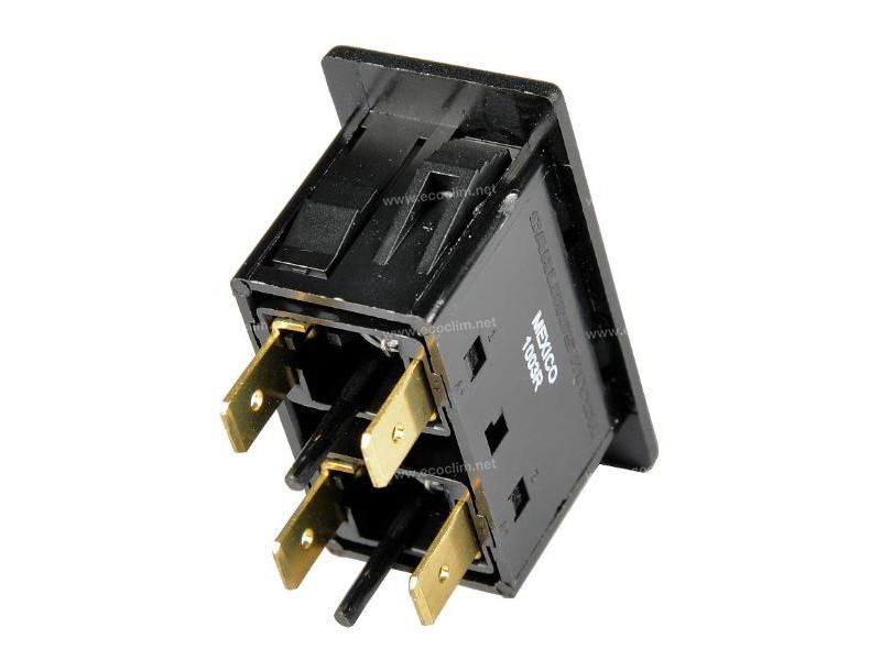 Composant électrique Interrupteur Carling Technologies Voyants Contura |  |