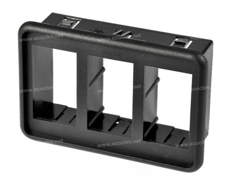Composant électrique Interrupteur Carling Technologies BLOC 3 INTERRUPTEURS CONTURA 5