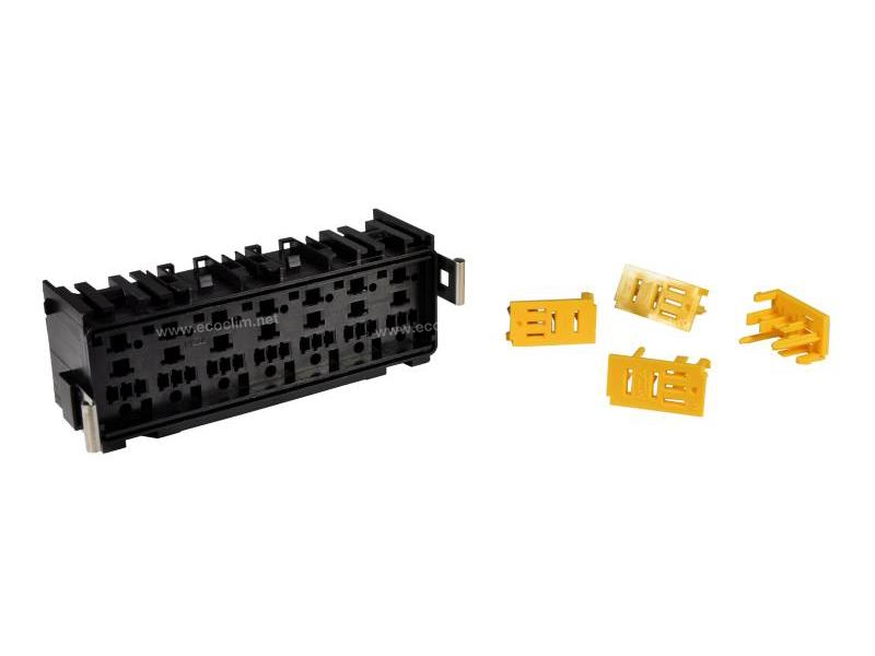 Composant électrique Divers Support relais fusible PORTE MINI RELAIS + SUPPORT |  |
