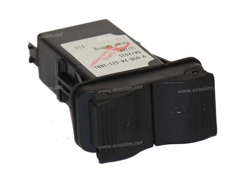Composant électrique Interrupteur Carling Technologies PRISE USB CABINE