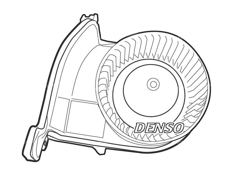 Air distribution OEM Blower VEHICULE AVEC CLIM