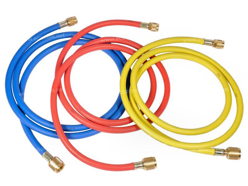 Outillage et consommable Flexible de charge 6m BLEU R134A 1/4-3/8