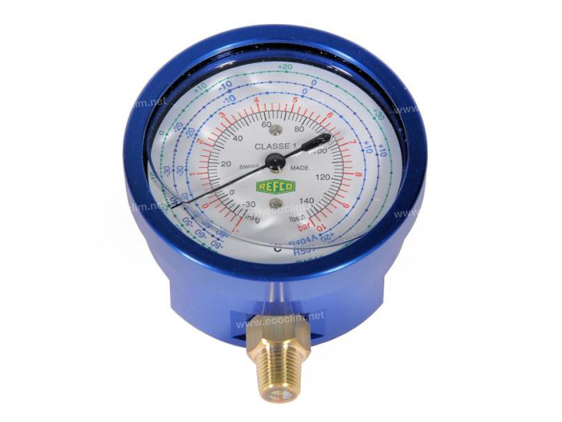 Station Spare parts for filling stations Manometer MANOMETRE BAIN D'HUILE BP R134 |  |