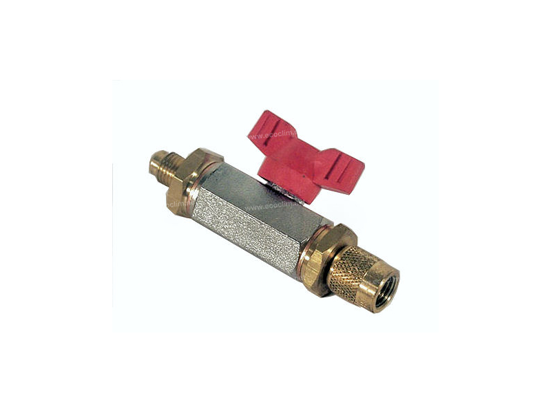 Tools and consumable Load valve VANNE ROUGE 1/4 MALE FEMELLE |  |