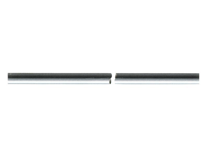 Raccord De réparation de ligne rigide Prise de pression TUBE ALU 3/8'' 9.53 mm LG 1m