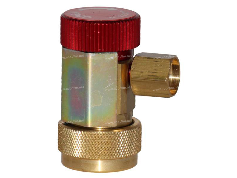 Tools and consumable Load valve VANNE R1234yf HP (ROUGE)