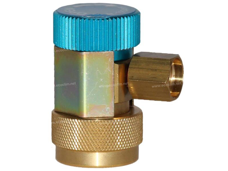 Tools and consumable Load valve VANNE R1234yf BP (BLEU)