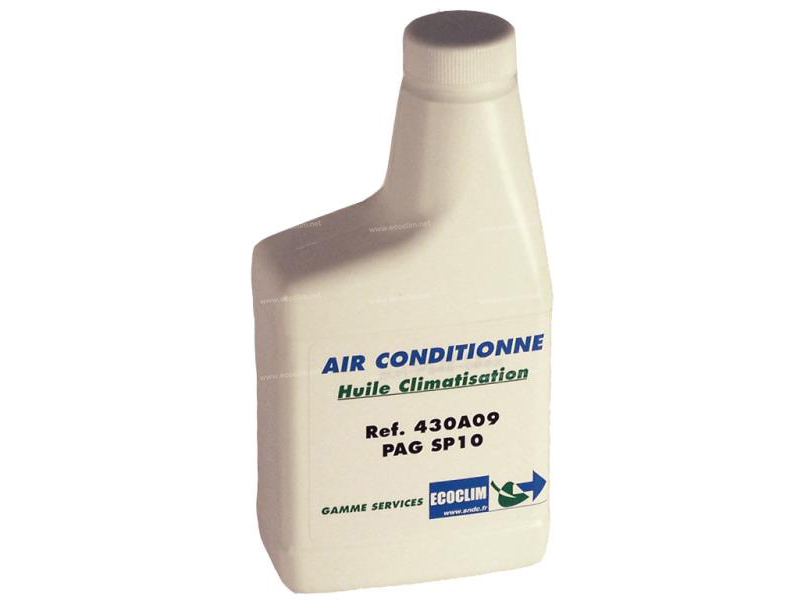 Outillage et consommable Huile R134a R134a PAG SP10 ISO46 250ml