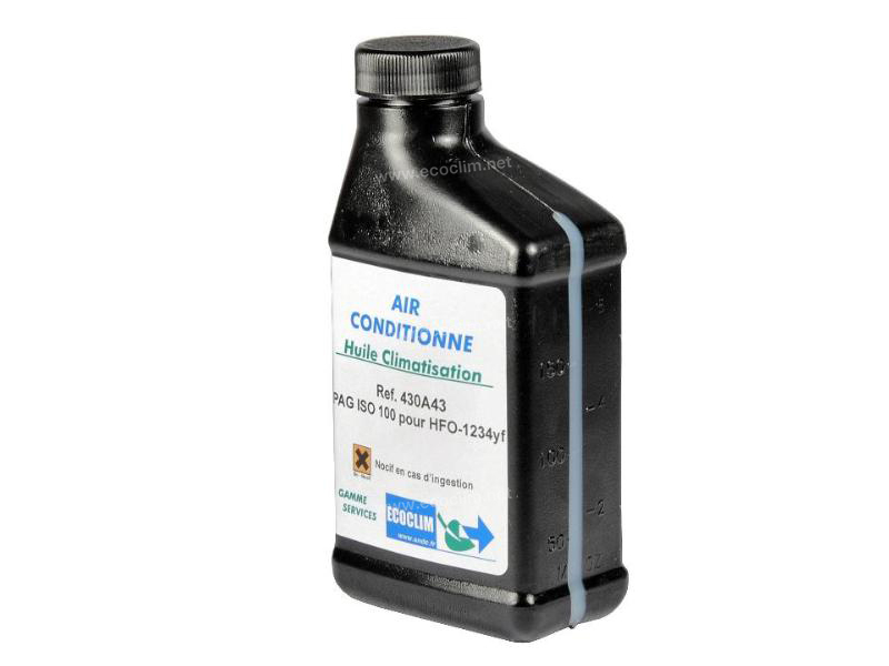 Outillage et consommable Huile 1234yf HUILE 1234yf 250ml ISO 100