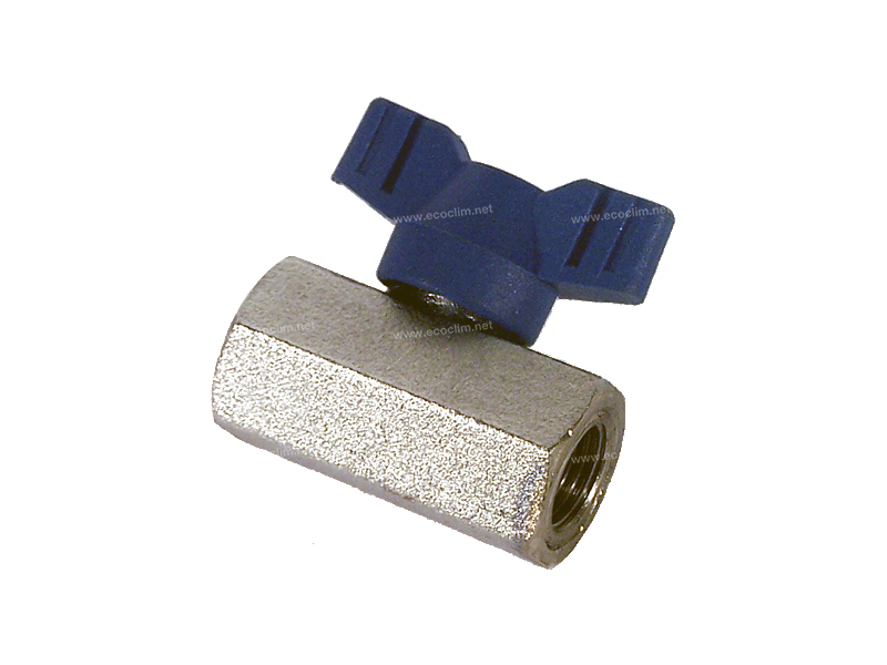 Station Spare parts for filling stations Valve VANNE BLEU 1/4 FEMELLE |  |