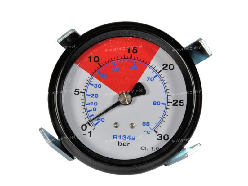 Station Spare parts for filling stations Manometer HP 80MM -1/30B R134a 1234yf |  |