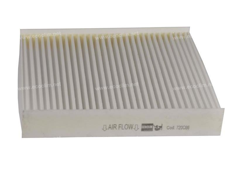 Air distribution Pollen cabin filter FILTRE POUSSIERE